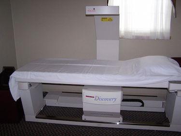 bone density testing at Tolland Imaging